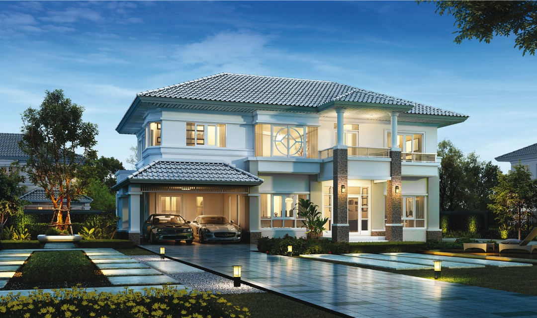 บ้านใหม่พร้อมขาย