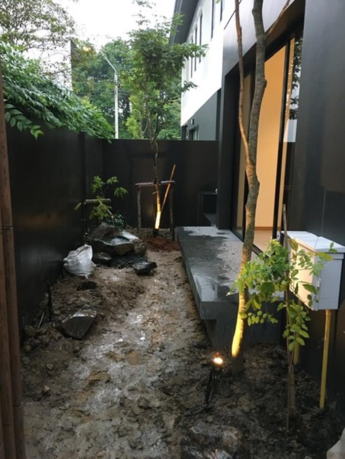 จัดสวนญี่ปุ่นข้างบ้าน