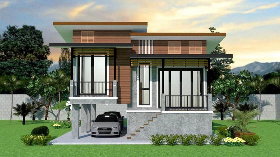 Modern, half floor