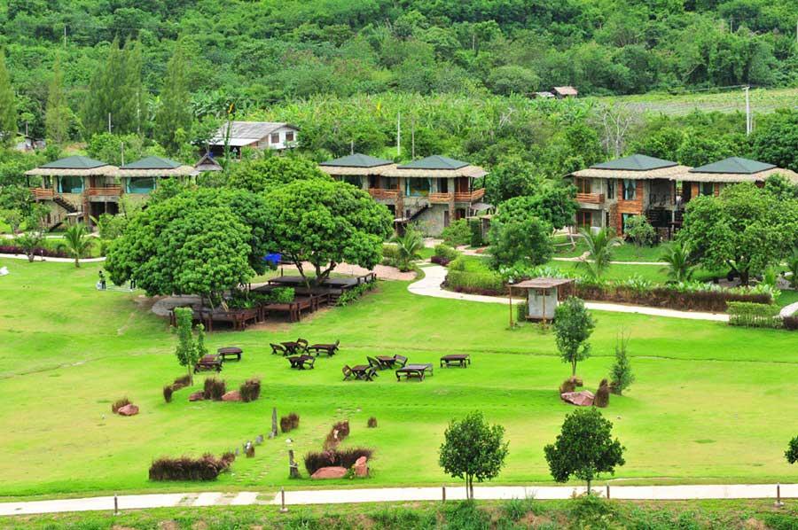 บ้านสวนธรรมชาติน่าพักใกล้กรุงเทพ